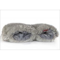 Calentito zorro ártico