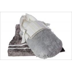 Capazo zorro ártico