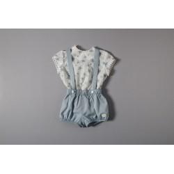 Peto con blusa 33014 Cocote