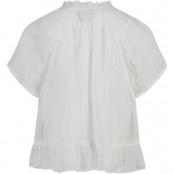 Blusa niña Acacia blanco/lurex CKS