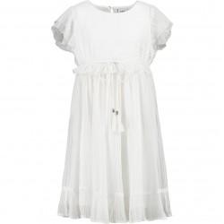 Vestido Abirla blanco/lurex CKS