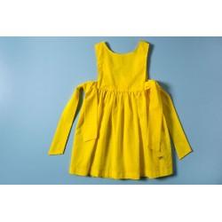 Vestido plumeti J. Varones 34276