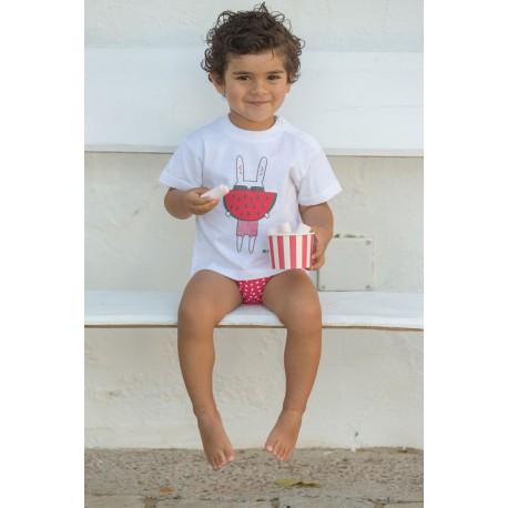 Conjunto camiseta y bañador niño J. Varones 34229