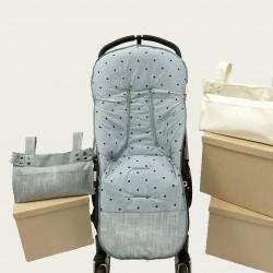 Colchoneta Varadero gris claro