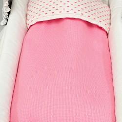 Capazo flúor rosa