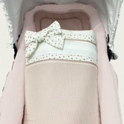 Capazo pique rosa-Josephine