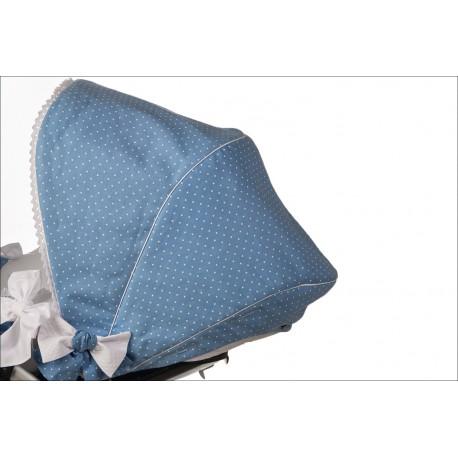 Capota silla de paseo Fátima azul