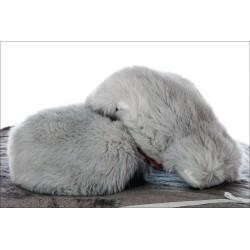 Manoplas zorro ártico