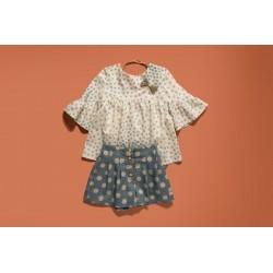 Conjunto blusa pantalón 34032 Varones