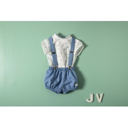 Peto con blusa 34014 J. Varones