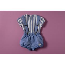 Peto con blusa 34042 J- Varones